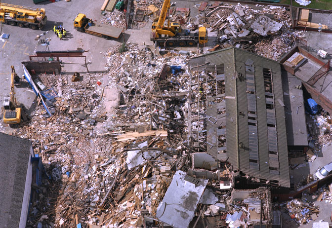 Stockline explosion image: HSE