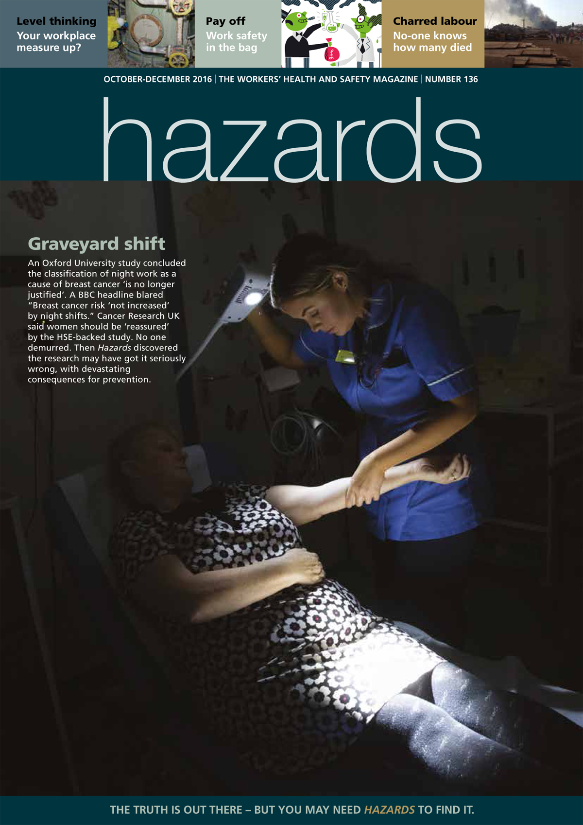 Graveyard shift: Cancer all-clear for night work based on
