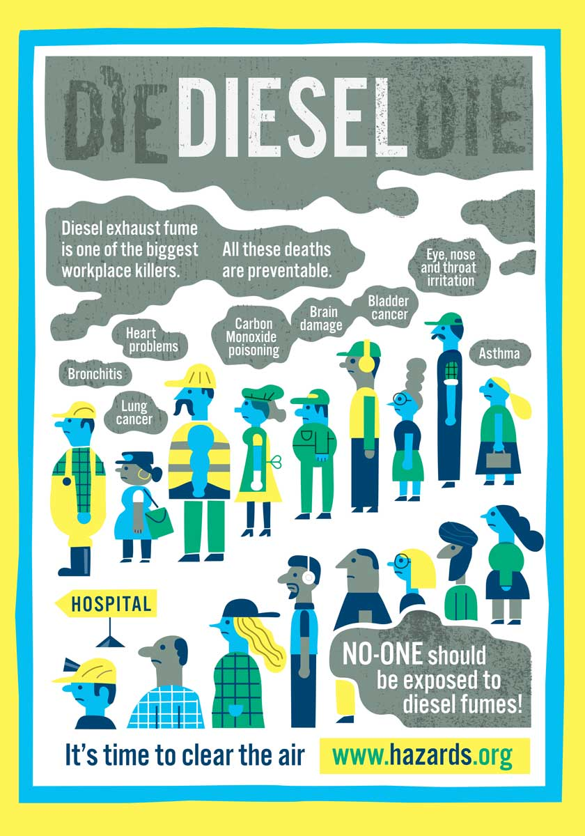 Diesel Fumes A Guide To Clearing The Air At Work Hazards Magazine