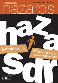 Hazards magazine issue 89 cover image