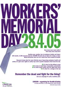 workers 39 memorial day 2006 hazards magazine. Black Bedroom Furniture Sets. Home Design Ideas