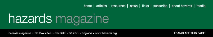 Hazards banner